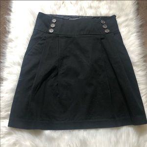 Zara Basics Black Skirt